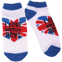 Love British Boys Shortie