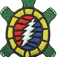 Amazon.com: Grateful Dead Steal Your Terrapin Turtle Embroidered Iron On patch p1351: Clothing