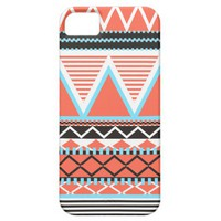 Coral Tribal iPhone 5 Cover from Zazzle.com