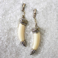 Glittering Frost Earrings, Sweet Affordable Jewelry