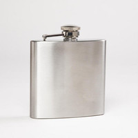 Stainless Steel Flask - World Market