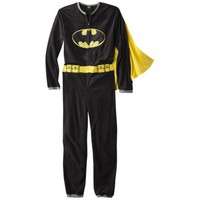 Men's Batman Union Suit with Cape - Black