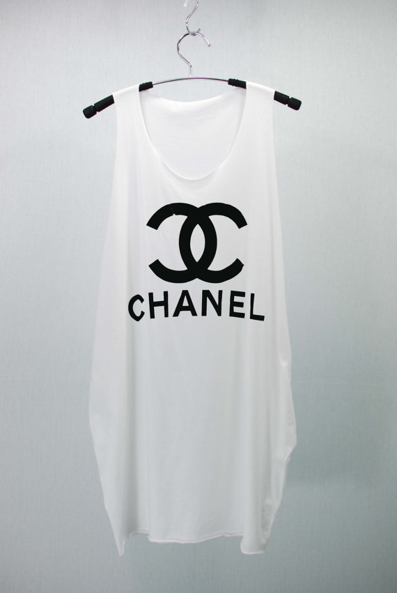Chanel Coco Chanel T Shirts Tank Top From Cafetshirt On Etsy