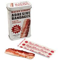 Bacon Strips Adhesive Bandages
