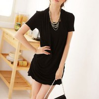 Plus Size Casual Soft Cotton Ladies Dresses : Yoco-fashion.com