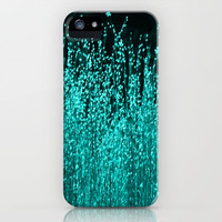Grasses Aqua 2 iPhone Case by Veronica Ventress | Society6