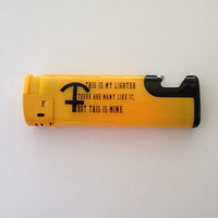Lighter/Bottle Opener by Poor Unfortunate Souls