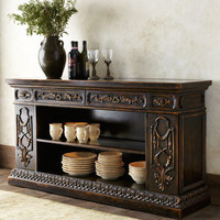 John-Richard Collection - Mochaccino Console - Horchow