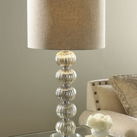Glass Ball Lamp - Horchow
