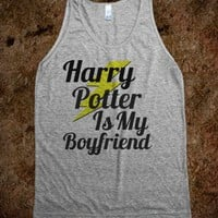 HP Boyfriend Shirt - Curly Hair Just Dont Care