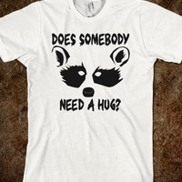 Raccoon Hug - TeeZ N U Apparel Shop