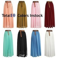 Maxi Skirt by StyleRemains