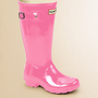 Hunter - Kid&#x27;s High Gloss Original Tall Rain Boots