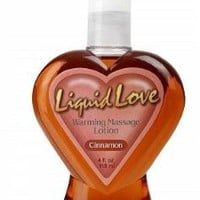 Amazon.com: Liquid Love Cinnamon Flavored Warming Massage Oil and Lubricant 4 Oz: Health & Personal Care