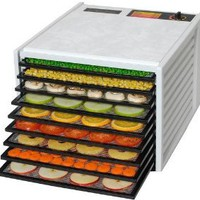 Amazon.com: Excalibur 3900 Food Dehydrator - 9 Tray - White - Food Dryer Kitchen Appliance - Food Storage & More: Kitchen & Dining