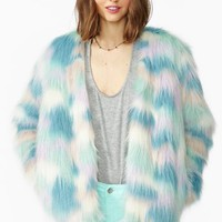 Fantasy Faux Fur Coat