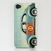 number 11 - VW beatle iPhone Case by Vince Pezzaniti | Society6