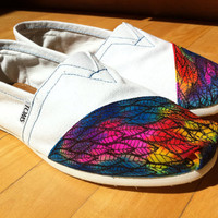HandPainted TOMS Classics by nicoletjahns on Etsy