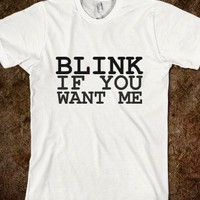 blink if you want me - glamfoxx.com