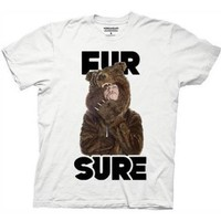 Amazon.com: Workaholics Fur Sure Mens T-shirt: Home &amp; Kitchen