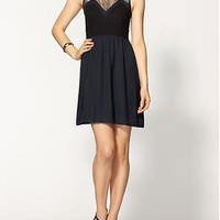 Greylin Patricia Lace Colorblock Dress | Piperlime