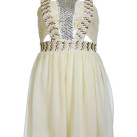 Petites Embellished Strap Dress - View All  - Petites