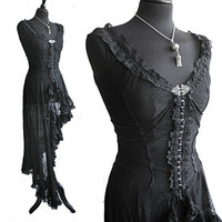 Dress Murcia, victorian, edwardian, steampunk, film noir, Somnia Romantica by Marjolein Turin