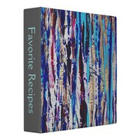 Silver Streak Binder from Zazzle.com