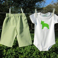 Baby Clothing Set - Green Bear on Luulla