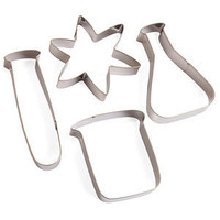ThinkGeek :: Labcutter Science Cookie Cutters