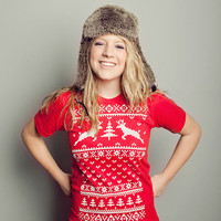 Deer Ugly Christmas Sweater T-shirt