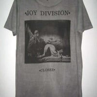 Joy Division Closer Ian Curtis Goth Punk Rock T-Shirt XL