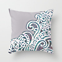 Adorn Throw Pillow by Vikki Salmela | Society6