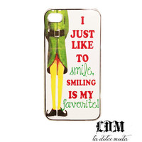 CHRISTMAS ELF movie quote iPhone case iPhone 4 iPhone 4s iPhone 5 hard plastic case funny movie love it