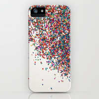 Fun II - NOT REAL GLITTER (photo of glitter) iPhone Case by Galaxy Eyes | Society6