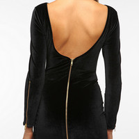 Dress The Population Velvet Bodycon Dress