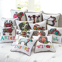 Astrology Organic Pillow Cover | PBteen