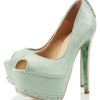 **CJG Peeptoe Platform Courts by CJG