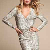 Sequin Mesh Dress