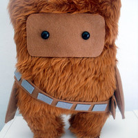 Star Wars Chewbacca Fur Ooak .30cm