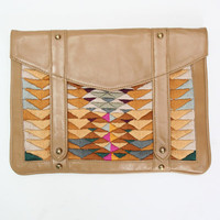 Beklina : Lizzie Fortunato Ipad Bag, Indian Paintbrush Case $345.