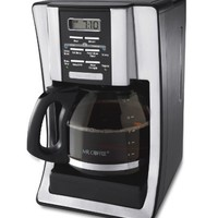 Mr. Coffee BVMC-SJX33GT 12-Cup Programmable Coffeemaker, Chrome | www.deviazon.com