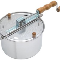 Wabash Valley Farms 25008 Whirley-Pop Stovetop Popcorn Popper | www.deviazon.com