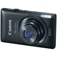 Canon PowerShot ELPH 300 HS 12.1 MP Digital Camera (Black) | www.deviazon.com