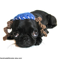 hanukkah DOG HATS MITZVAH bar bat bas cat hat crochet kippah yarmulke Chanukkah blue white payot chanukah chanukah photography props