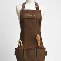 personalized garden apron from RedEnvelope.com