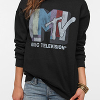 Junk Food MTV Sweatshirt - Black