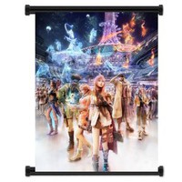 "Amazon.com: Final Fantasy XIII 13 Game Fabric Wall Scroll Poster (16""x21"") Inches: Home & Kitchen"
