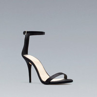SATIN SANDAL - Shoes - Woman - ZARA United States