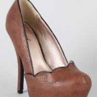 Qupid Onyx-50 Scallop Platform Pump-$25.90